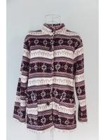 เสื้อกันหนาวสีม่วง