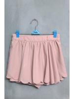 กางเกงกระโปรงสีชมพูอ่อน แบรนด์ INGNI