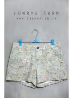 กางเกงขาสั้นลายดอกไม้ แบรนด์ LOWRYS FARM