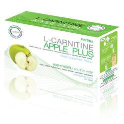 เวอรีน่า แอปเปิ้ล L-carnitine apple plus เวอรีน่าแอปเปิ้ล,น้ำผลไม้เพื่อหุ่นเพรียวสวย แอปเปิ้ลพลัส,หุ่นสวย,ผิวใส,เวอรีน่า แอล-คาร์นิทีน แอปเปิ้ล พลัส น้ำผลไม้ลดน้ำหนัก พร้อมผิวสวย รสแอปเปิ้ลเขียว