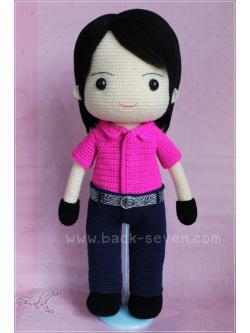 ตุ๊กตาถักนักไอซ์สเก็ต เกาหลี