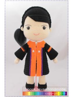 ตุ๊กตาชุดรับปริญญาหญิง ม.วลัยลักษณ์