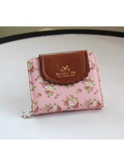 กระเป๋าสตางค์ Samilon รุ่น 12206 (สีชมพู)