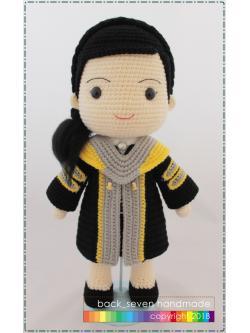 ตุ๊กตาชุดรับปริญญาหญิง ม.มหาสารคาม