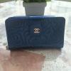 CHANEL กระเป๋าสตางค์ - สีน้ำเงิน ใบกลาง