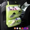 Multi-Pocket Car Back Seat Organiser Travel Storage Bag + Hanger Pouch - กระเป๋าผ้าห้อยเบาะหลังคนขับในรถยนต์ เพิ่มที่จัดเก็บของในรถ