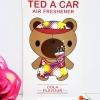 Ted A Car / Air Freshener (Cola)