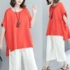 JY25306#เสื้อOversizeสไตล์เกาหลี เสื้อโอเวอร์ไซส์แต่งลายแนวๆ อก*100ซม.ขึ้นไปประมาณ40-42นิ้วขึ้น