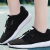 รองเท้าผ้าใบ ผู้หญิง แบบเชือกผูก รองเท้า วัยรุ่น รองเท้าหุ้มส้น รุ่นระบายอากาศ สีดำ รองเท้าใส่เที่ยว เท่ ๆ 465384_1