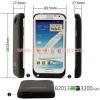 เคส Galaxy Note 2 เป็นแบตเตอรี่สำรองในตัว ความจุมากถึง 3200mAh