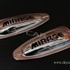 ครอบไฟเลี้ยวแก้ม รถมิราจ(Mirage) แบบ 1