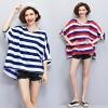JY25493#เสื้อOversizeสไตล์เกาหลี เสื้อโอเวอร์ไซส์แต่งลายแนวๆ อก*100ซม.ขึ้นไปประมาณ40-42นิ้วขึ้น