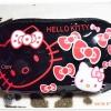 กระเป๋าใส่ดินสอ ใส่เงิน Kitty สีดำตัวแดง K004