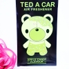 Ted A Car / Air Freshener (Apple Candy)