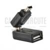 MINI USB 360 องศา - หัวต่อแปลง USB หัวเล็ก ให้เป็นหัวใหญ่