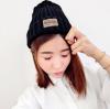 สีดำ : หมวกไหมพรม ทรงยอดฮิต หลากสี เกาหลีสุดๆ