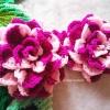(ราคาส่ง) กุหลาบถักไหมพรม Rose Flowers Crochet