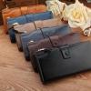 กระเป๋าสตางค์ ใบยาว ผู้หญิง กระเป๋าสตางค์หนังวัวแท้ กระเป๋าสตางค์ แบบถือ ดีไซน์หรู กระเป๋าสตางค์ คุณนาย ไฮโซ แบบสวย มีระดับ สีคลาสสิค 434398