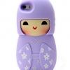 เคส iphone 6 ขนาด 4.7 นิ้ว เคสกิโมโน ตุ๊กตา จากประเทศญี่ปุ่น เคสซิโลโคน อย่างดี ตุ๊กตาใส่ชุดกิโมโน สีม่วงอ่อน ดอกลาเวนเดอร์ 546970_3