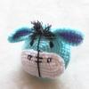 กระเป๋าใส่เหรียญอิยอร์ถักโครเชต์ eeyor amigurumi crochet bag