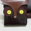 กระเป๋านกฮูกสะพายข้าง สายยาว ปรับ,ถอดสายได้ ด้านในเป็นซิป