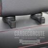 ที่แขวนของเสริมอเนกประสงค์ สำหรับห้อยของที่หัวเบาะรถยนต์ ซ่อนเก็บได้ (3 สี)