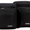 กระเป๋าสะพายข้างผู้ชาย กระเป๋า polo สะพายข้าง แนว Sport วัสดุ Polyester กันน้ำ กระเป๋าสะพายข้างสีดำ แบบสวย ใส่ของได้เยอะ ของขวัญให้แฟน 741518