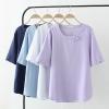 เสื้อยืดคนอ้วน วัดไซส์ตามน้ำหนักโดยประมาณ XL:50-65KG./2XL:65-75KG./3XL:75-90KG./4XL:90-100กิโลกรัม
