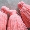พู่แบบหนาฟู ขนาด 2 นิ้ว 4 ply tassel crochet acrylic yarn 4 ply