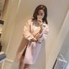 สีชมพูอ่อน xl : เสื้อโค้ทกันหนาว ทรงสวย
