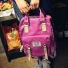 กระเป๋าสะพาย Doughnut ผ้าร่มกันน้ำ สีviolet