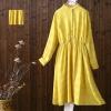 เสื้อเดรสตัวยาว ช่วงอกโดยประมาณ S:88/M:92/L:96/XL:100เซนติเมตร