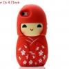 เคส iphone 6 ขนาด 4.7 นิ้ว เคสกิโมโน ตุ๊กตา จากประเทศญี่ปุ่น เคสซิโลโคน อย่างดี ตุ๊กตาใส่ชุดกิโมโน สีแดง 546970_6