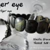 TG401Bข้อมือพลอยตาเสือสีดำBlack tiger' eye.