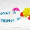 ริสแบนด์ Shinee แบบเดี่ยว สีขาว