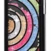 เคส iPhone 5c ประดับเม็ดคริสตัล ด้านใน คล้ายเม็ดทราย เคส แบบ เก๋ งาน Hand made ไม่ซ้ำใคร ลูกเล่นครึ่งวงกลม สีดำ สีขาว no 98246_7