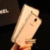 กรอบโทรศัพท์หรู สำหรับ iPhone 5s/4s case Samsung galaxy note3 bumper ติดเพชรรอบกรอบมือถือ ID: A196