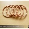 ประเก็นคอท่อไอเสีย ทองแดง ของใหม่ สำหรับท่อไอเสียของ R24-R60/2