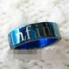แหวน Infinite สีฟ้า