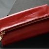 กระเป๋าสตางค์ ใบยาว ผู้หญิง กระเป๋าสตางค์หนังวัวแท้ หนัง Oil Wax แบบพับ 3 พับ ดีไซน์หรู ใช้เป็น กระเป๋าถือออกงาน ได้เลย ใส่โทรศัทพ์ 856329