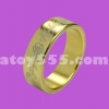 แหวนแม่เหล็ก  สีทอง มีลาย  20 mm (PK ring)