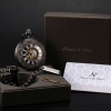 นาฬิกาล็อคเก็ต แบบ Mechanical watch โชว์กลไก นาฬิกา Kronen & Söhne สัญชาติ เยอรมัน แกะลาย ของขวัญแทนใจ สุดหรู 404966