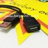 สาย USB สายเพิ่มความยาวสำหรับ iPhone/iPod/iPad และอื่นๆ