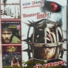 VCD 3in1 หนังฝรั่ง เรื่อง saw2+สมรภูมิผี+wolf creek