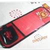 ที่ใส่ CD ติดที่บังแดด รถยนต์ ทีม Man U สีแดงพร้อมที่ใส่โทรศัพท์