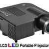Mini Projector โปรเจคเตอร์ขนาดเล็ก สำหรับนำเสนองาน ดูหนัง ฟังเพลง Ebook เล่นเกมส์ ฉายภาพได้ ใหญ่ถึง 60นิ้ว