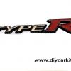 โลโก้ Type R ขอบเคฟล่าห์