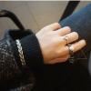 แหวนแฟชั่นรูปโซ่แต่งมุก