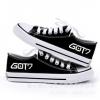 Preorder รองเท้าผ้าใบต่ำ GOT7 DFBX021