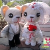 ตุ๊กตาหมีคู่รัก : Europe 2 (Pre-order)